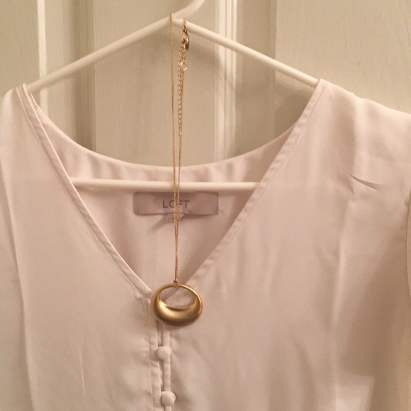 New York & Company Jewelry - Like NEW!  Gold necklace